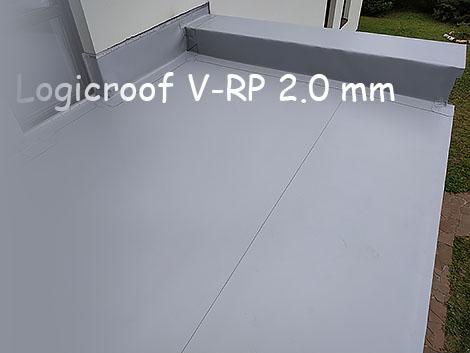Мембрана Logicroof на терраса