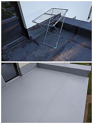 Ремонт крыши терраса